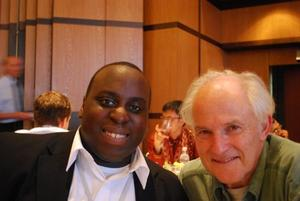 Steve Acquah and Harry Kroto